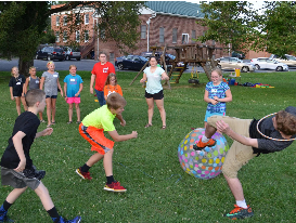 Youth Group at play